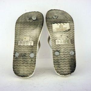 400fe890ca52a DKNY Shoes - DKNY Madi Flip-Flops White